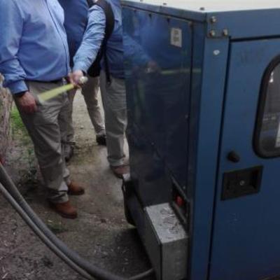 Proyecto Montaje Generador Laboratorio Pfizer