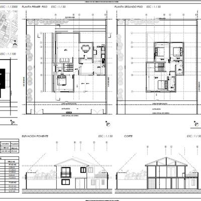 Proyecto de regualrización de obra nueva planimetría completa