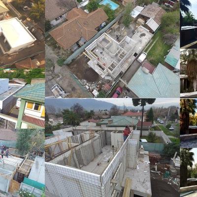 Diseños y construcción de viviendas.