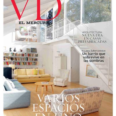 Publicacion en revista Vivienda y Decoracion del mercurio, revista VD