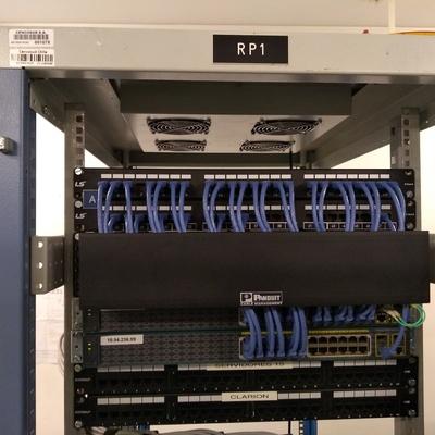 Instalación de cableado estructurado para Cencosud Alto las Condes