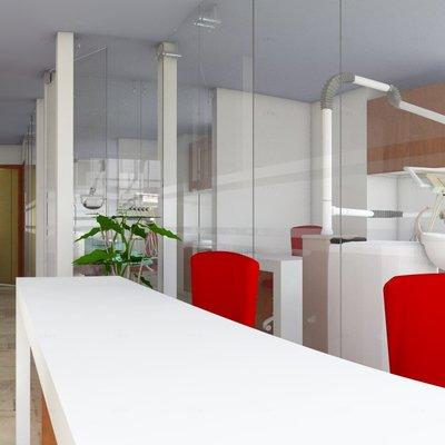 Diseño de Sala de Procedimientos Odontologico
