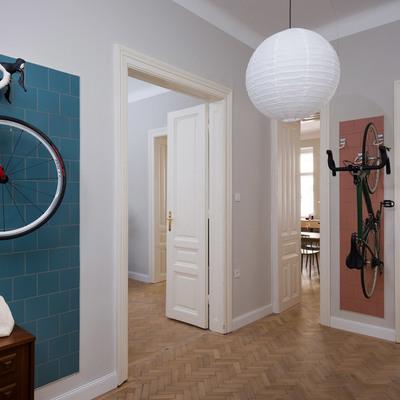 Una casa para amantes de la bicicleta y el medioambiente
