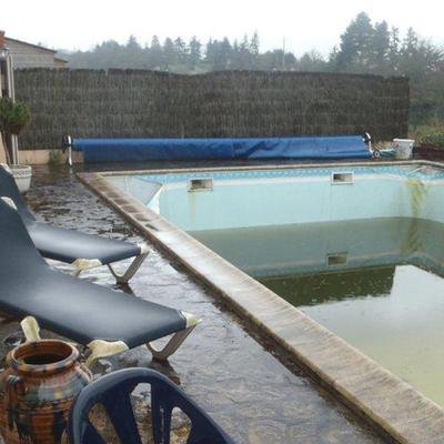 El increíble antes y después de 4 piscinas