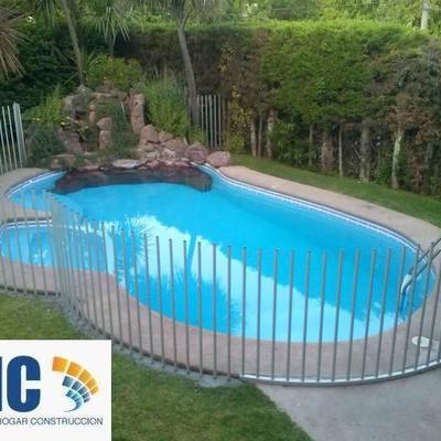 Ideas de remodelaci n piscina para inspirarte habitissimo for Entrada piscina
