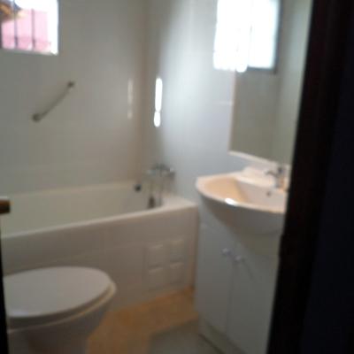 Remodelación total baño.