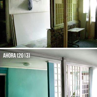 Remodelación casa en San Miguel, Santiago.