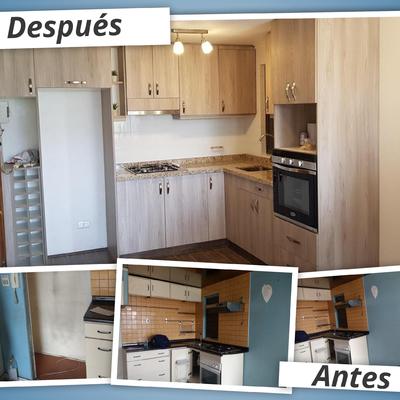 Remodelación cocina en departamento