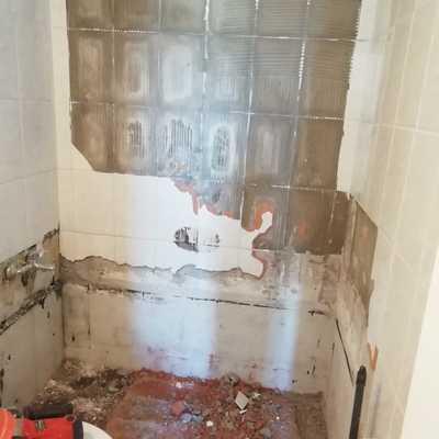 Remodelación de baño Santiago, av. San isidro