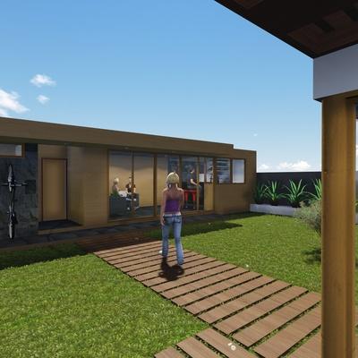 Remodelación Vivienda Laguna Ayres de Chicureo (En construcción años 2014-2015)