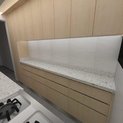Construcción de Cocina 5 Mt2