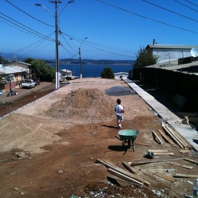 Reparación, Hermosamiento y Paisajismo Pasaje Martin Pescador, de la comuna de Talcahuano.