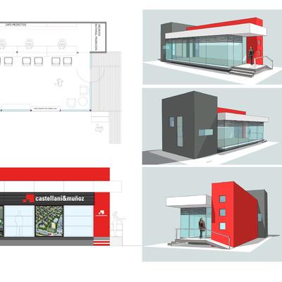 Propuesta diseño sala de venta por Circulo diseño ltda