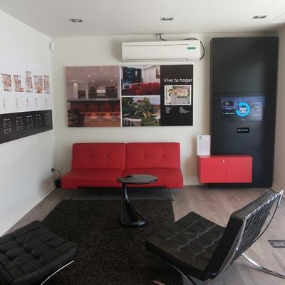 Sala de ventas Inmobiliaria Actual