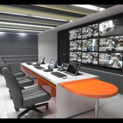 Sala de Control CCTV - Entel