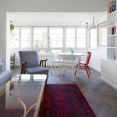 Fresco y joven, descubre una hermosa remodelación en solo 55 m²