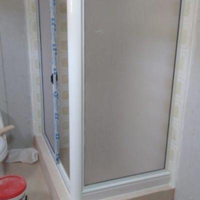 showerdoor en L