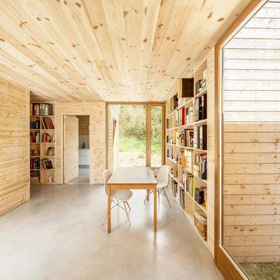 Gana calidez en tu casa, reviste las paredes con madera