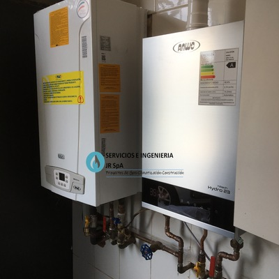 Sistema de calefacción central-Ubicación: Av. Consistorial Peñalolen