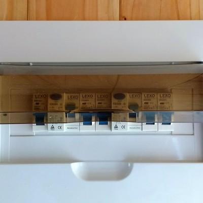 Instalación eléctrica cabaña Malalhue.