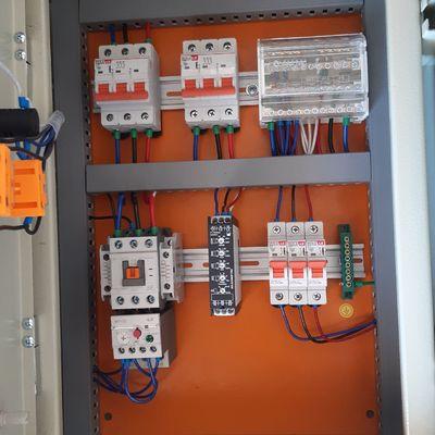 Creacion de tableros electricos industriales para piscinas.