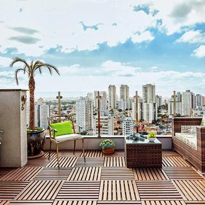 Cómo instalar deck en el piso de tu terraza