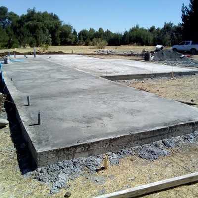 Moldajes para sobre Cimientos y Radier