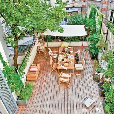 Descubre 10 hermosas terrazas en áticos que acaparan todos los piropos