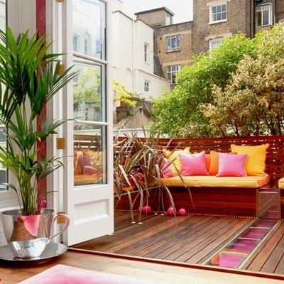 Ideas que podemos robar para nuestras terrazas pequeñas