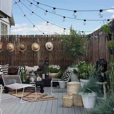 """¿Tienes una terraza pequeña y divertida? 7 """"tips"""" para aprovecharla al máximo"""