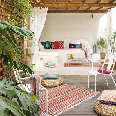 10 terrazas de Airbnb donde perderse e inspirarse