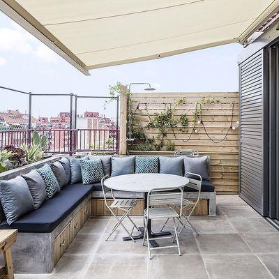 5 infaltables para una terraza mini