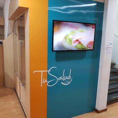 Remodelación Sala de Espera Clínica Dental Tu Salud Chile