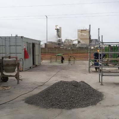 Construcción de Bodegas de Gases y Aceites