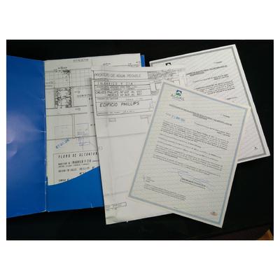 Certificados Fidedignos de Instalación Sanitaria Y alcantarillado