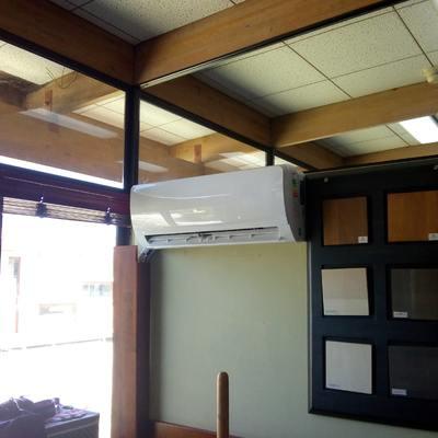 Aprovisionamiento e instalación de equipos de aire acondicionado en empresa Ignisterra Villa Alemana