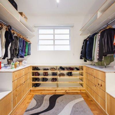 vestidor de madera