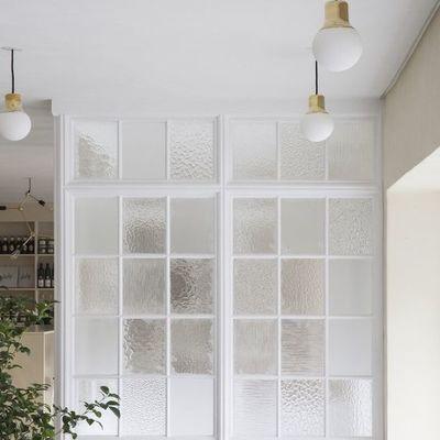 Vidrios con textura