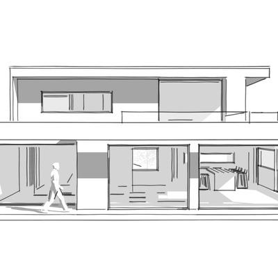 Casa Roman, en construcción