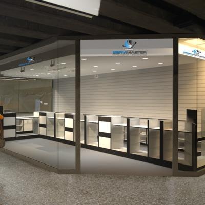 Diseño y Construccion local Servimaster para Metro S.A.