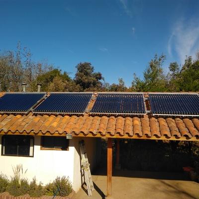 Sistema Termosolar Para ACS y Calefaccion en Pirque