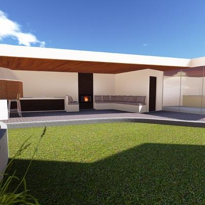 Diseño y Proyecto de ampliacion vivienda Costa Laguna