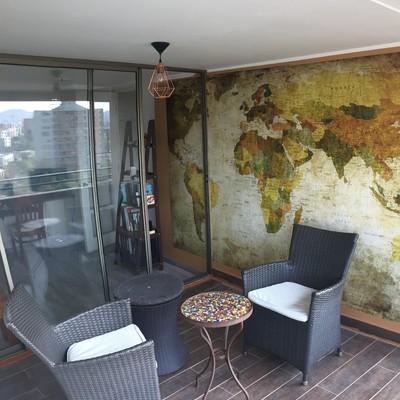 Remodelación departamento, modificación de dormitorio en terraza