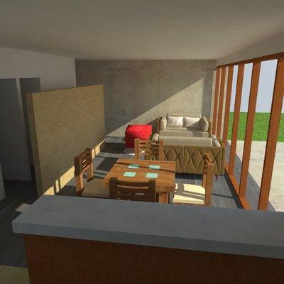 Casa estilo mediterranea - 80 m2