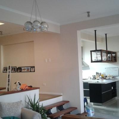 Vista interior Comedor y Cocina