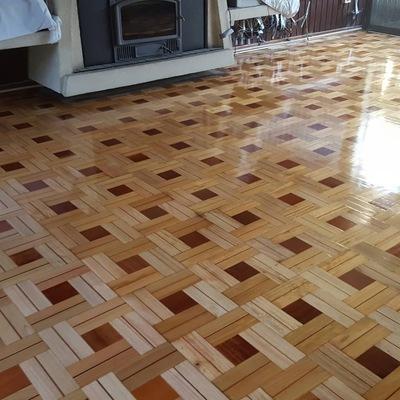 Instalación piso parquet