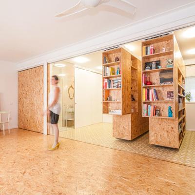 Una vivienda con tableros OSB que se adapta a tus necesidades