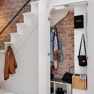 escaleras con closet