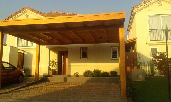 Foto cobertizo estacionamiento de construcciones menores for Precios de cobertizos
