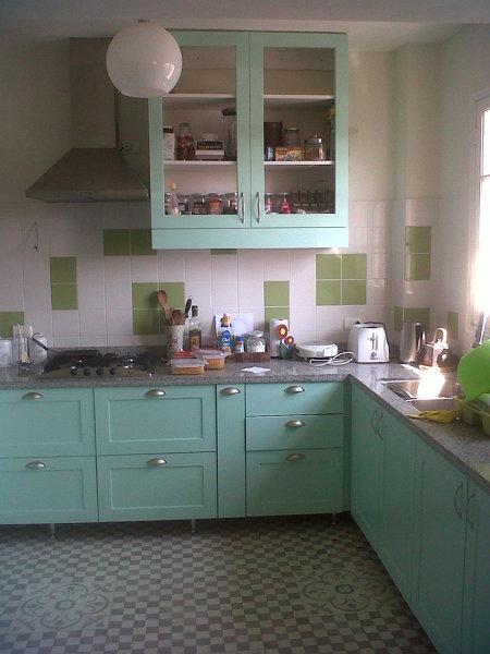 Foto: Cocina Vintage Cont... de Muebles Ideas Y Diseño Muebles A ...